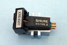 SHURE V15 Type 11 - 7 Super-TRACK Cartuccia-V RARE: STEREO ma perfetto per mono