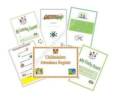 Childminder START-UP READYMADE PAPERWORK KIT register,diary,contracts,journal
