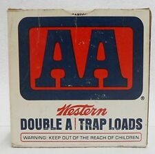 Western 12 Gauge Aa 7-1/2 Shot Trap Loads Empty Ammo Box