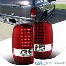 For 00-06 Chevy Tahoe Suburban GMC Yukon Denali LED Tail Lights Brake Lamps Red