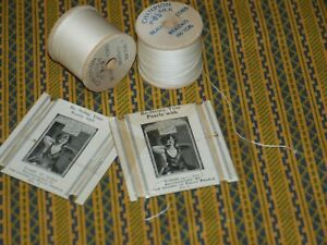 Pure Silk thread Champion silk Spools & Felco Silk Card VTG LOT - RARE!