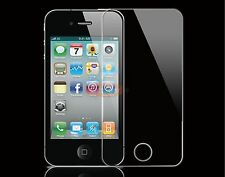 NEW GENIUNE TEMPERED GLASS FILM LCD SCREEN PROTECTOR FOR APPLE IPHONE 4 / 4S