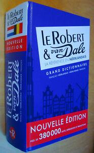 Le Robert Van Dale Grand dictionnaire Français-Néerlandais Néerlandais-Français