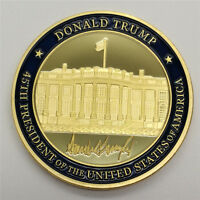 Seal of the US 45th President Donald Trump White Hourse EAGLE Commemorative Coin