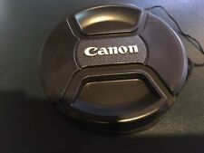 62mm Lens Cap for Canon Lenses f/ 62mm filter size  with capkeeper US