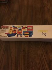 LEGO Basic Building Set 1560 from 1985 New in Package