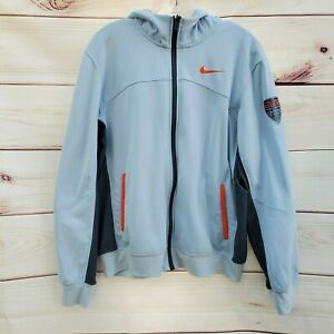 Nike Elite Therma Fit Basketball Full Zip Hoodie Jacket 535268-478 Mens Medium