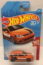 Hot Wheels Volkswagen Golf MK7 VW HW Then and Now 10/10 B Case Die Cast