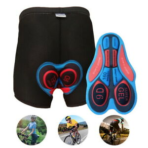 5D Gel Padded Cycling Shorts Bike Underwear Pants Breathable Shorts Men Women