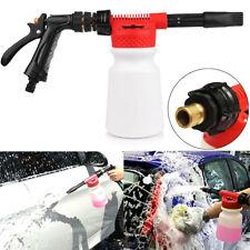 AU 900ml Pressure Foam Soap Water Car Wash Sprayer Gun Cleaning Hose Pipe Lance