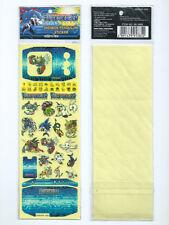 Rare Bandai 1998 Digimon Pendulum 1.5 Digivice 2 Deep Savers Sticker Set E 20th