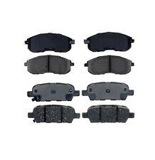 Front & Rear Ceramic Brake Pad Sets Kit ACDelco For Infiniti G35 Nissan 350Z