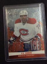 13-14 2013-14 SELECT P.K. SUBBAN FIRE ON ICE STARS FS-20 MONTREAL CANADIENS