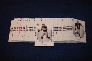 2007 UPPER DECK SP AUTHENTIC FOOTBALL SET W/O SP'S COMPLETE 1-100