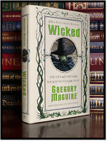 Wicked Trilogy Edition ✎SIGNED✎ by GREGORY MAGUIRE New First Print Thus Hardback
