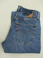 "LEVI'S 501, Men's, Blue Denim, Straight, Levi Jeans, Waist 28"" Inside Leg 32L"