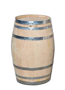 Kastanienfaß, Holzfaß, Fass, Regentonne, Weinfaß, Regenfaß, Deko Fass, NEU 100 L