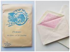 Blanko Briefpapier DDR Ostalgie 40 Blätter (A5) und 20 Umschläge