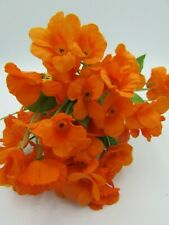 """#50 Artificial Silk 24/"""" Poppy Flower Plant Red 12 Pieces"""