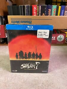 BLU-RAY DVD Disc New Sealed Anime Akira Kurosawa SAMURAI 7 SEVEN COMPLETE SERIES