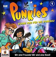 DIE PUNKIES - 001: BÜHNE FREI FÜR DIE PUNKIES!   CD NEU