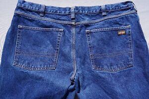 Jesse James Industrial Workwear 14 Ounce Denim 5 Pocket Jeans. Men's 42X28.5 GUC