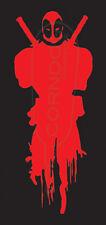 DeadPool Bleeding STICKER VINYL DECAL MARVEL WADE WILSON CABLE X FORCE STAN LEE