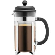 Bodum Caffettiera French Press Coffee Maker - Black - 1.0 Litres, 8 Cup Capacity