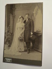 Tannwald - stehendes Paar - Hochzeit - Anton Smetak ? und Frau - Portrait / KAB