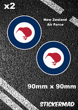 Royal New Zealand Air Force Roundels Stickers Typhoon Phanthom Fighter Jet Kiwi