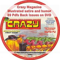 Crazy Magazine 89 pdfs illustrated satire and humor Many Writers DVD