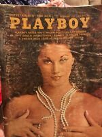 Playboy Magazine November 1970 with Centerfold Vintage Free Shipping