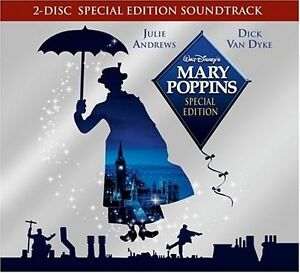 MARY POPPINS CD SOUNDTRACK - SPECIAL EDITION [2 DISCS](2004) - NEW UNOPENED