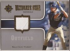 BRIAN GILES Padres 2007 Ultimate Collection Star Materials Jersey