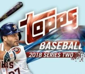2018 Topps Series Two Future Stars Cards Regular, Blue, Black or Gold Pick List