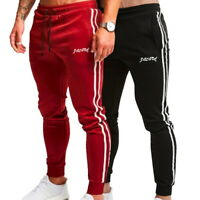 Men's Trousers Slim Fit Sports Jogging Jogger Casual Sweatpants Track Pants UK