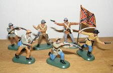 BRITAINS sudistes pour Fuß , ACW confédéré Butternut Infanterie, 52006, NEUF
