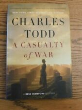 A Casualty of War by Charles Todd (2017 Hardcover)