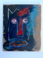 Jean Michel-Basquiat SAMO Original Oil on Canvas American artist New York Modern