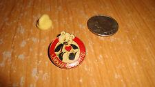 Vintage Hat/lapel Pin - Panda  --   'Jesus Loves Me'  --mint condition