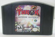 Nintendo N64 Turok Rage Wars Game Cartridge. Works. R13577