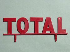 ENSEIGNE  TOTAL  POUR   GARAGE   STATION   SERVICE   KAD   VROOM   1/43