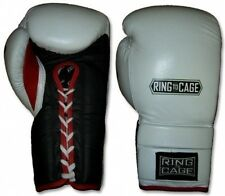 Ring To Cage 14oz through 24oz Deluxe MiM-Foam Sparring Gloves - Lace-up - New!