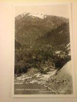Vtg 1930's-40's RPPC Photo POSTCARD Feather River Canyon, California