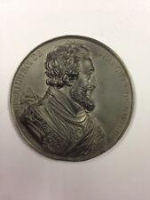 Henri IIII - Médaille en etain signée Caqué 1838 - Série Rois de France
