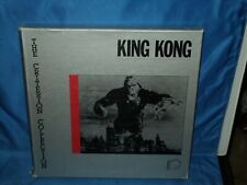 The Criterion Collection KING KONG LaserDisc