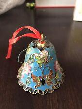 cloisonne bell ornament