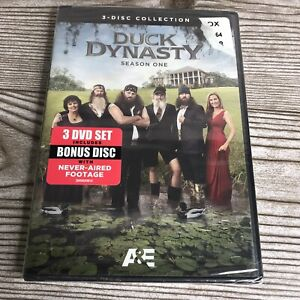 Duck Dynasty: Season One (DVD, 2012, 3-Disc Set) - Brand New Sealed