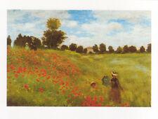 Claude Monet - Les Coquelicots 1873 Poster Kunstdruck Bild Mohnblume 60 x 80 cm