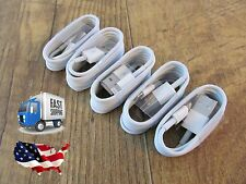 5 Pack Lightning USB Cable Charger for Apple iPhone 5 5C 5S 6 iOS 9 Certified